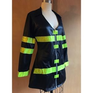 Adult Women's Firefighter Costume Size M